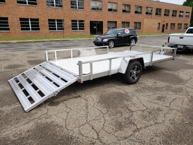2021 Stealth Trailers 7x12 Phantom II Aluminum Utility Trailer