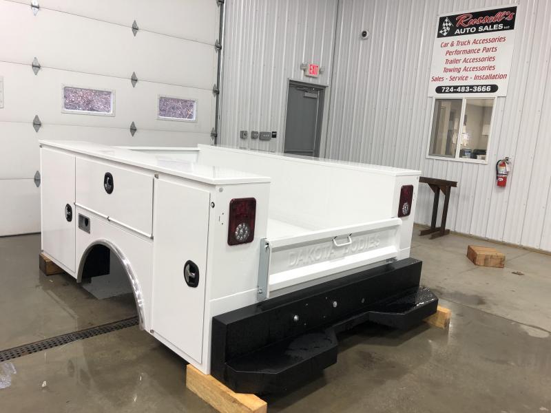 2021 Dakota Truck Bodies Gen 2 Service Body 56'' SRW Pickup Bed Removal