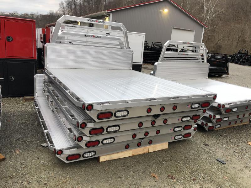 "DuraMag Aluminum 81"" x 102"" Chevy Standard Longbed Flatbed"