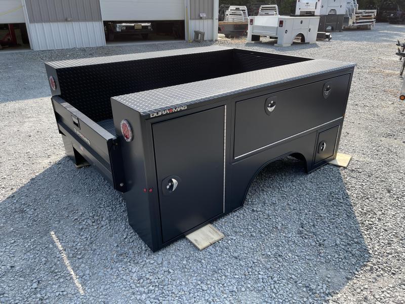 DuraMag S-Series Aluminum Service Body SRW Matte Black 17+ Ford Short Bed