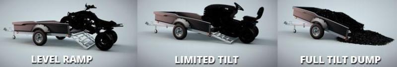 2021 Floe Cargo Max 11-73 Utility Trailer w/MAG WHEELS