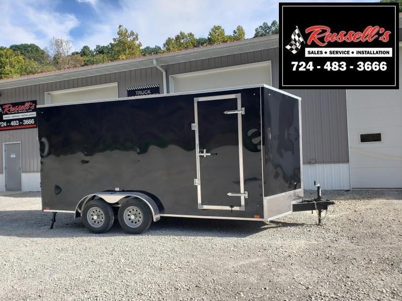 2022 Discovery Trailers 7x16 ET 12'' Extra Height Beavertail Enclosed Cargo Trailer