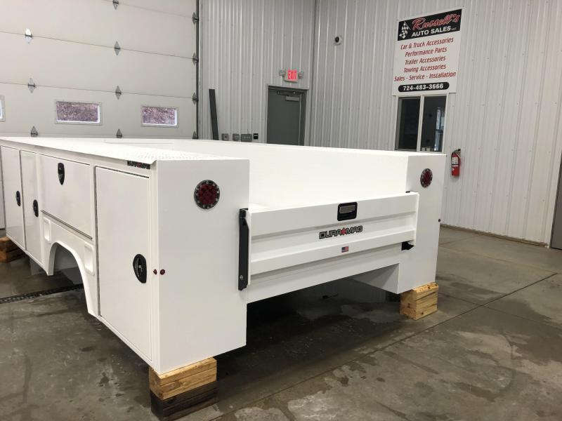 """DuraMag S-Series Aluminum Service Body 84""""ca Cab and Chassis DRW  11'"""
