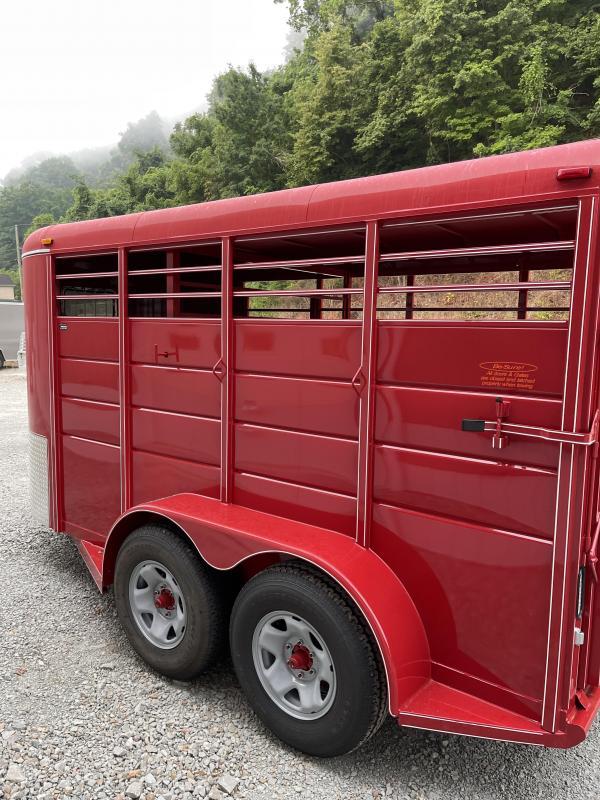 2021 Calico Trailers 14' X 6' X 6'6'' Livestock Trailer
