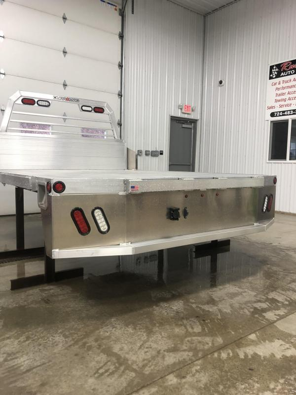 """DuraMag Aluminum 97"""""""" x 114"""" Truck Bed Deluxe DRW Cab & Chassis 60"""""""