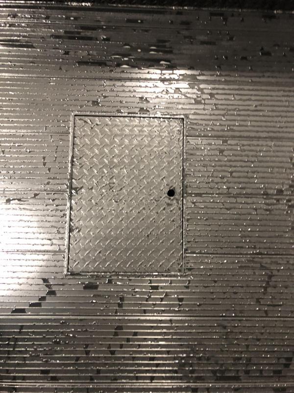 """DuraMag Aluminum Low-Pro Service Body 60""""ca C&C DRW Gooseneck Ready Matte Black"""