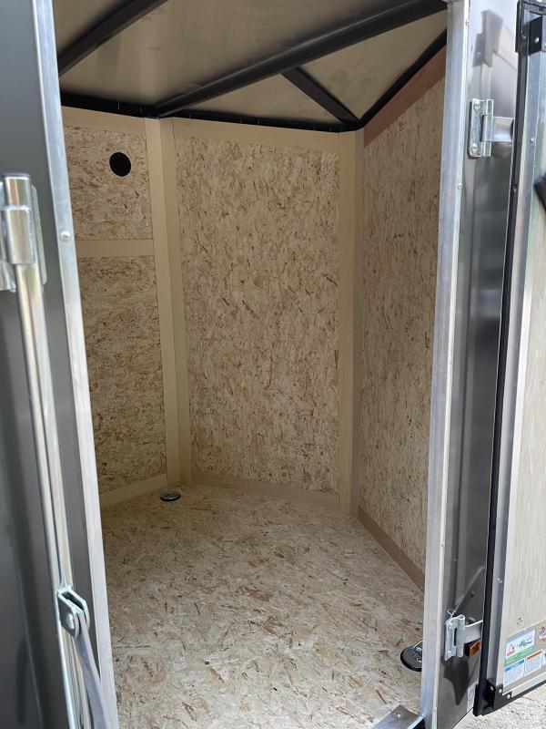 2022 US Cargo 6x10 LE Ramp Door Enclosed Cargo Trailer