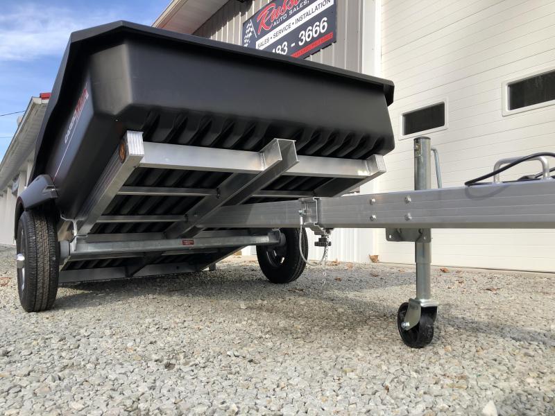2021 Floe Cargo Max 8-57 MAG WHEELS Utility Trailer