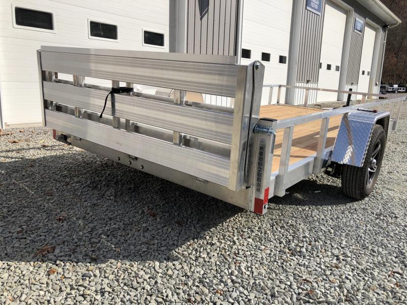 2021 Stealth Trailers 6 5x14 Phantom II Aluminum Utility Trailer