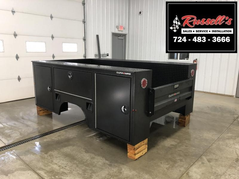 "DuraMag S-Series Aluminum Service Body 60""ca Cab and Chassis SRW Black"