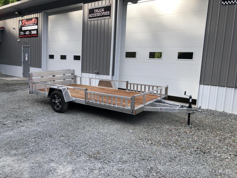 2022 Stealth Trailers 7x14 Phantom II Aluminum Utility Trailer