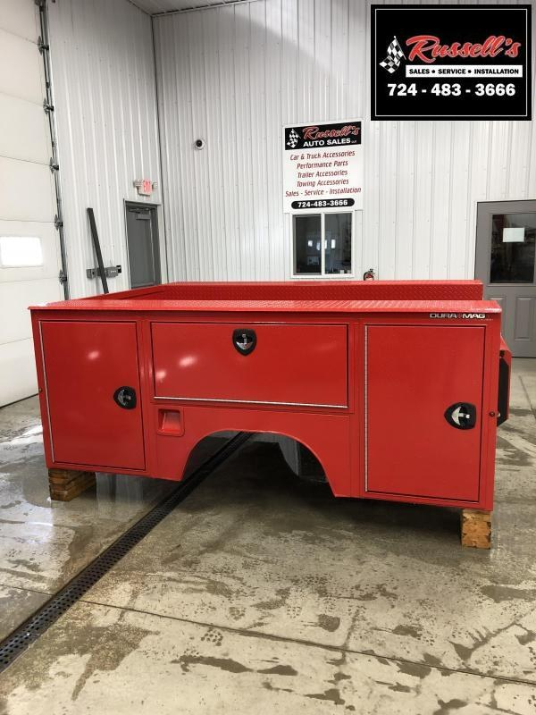 DuraMag S-Series Aluminum Service Body Red SRW New 2020+ GM