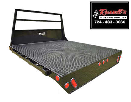 2021 Cadet Truck Bodies SRW Shortbed B7-84 Truck Bed
