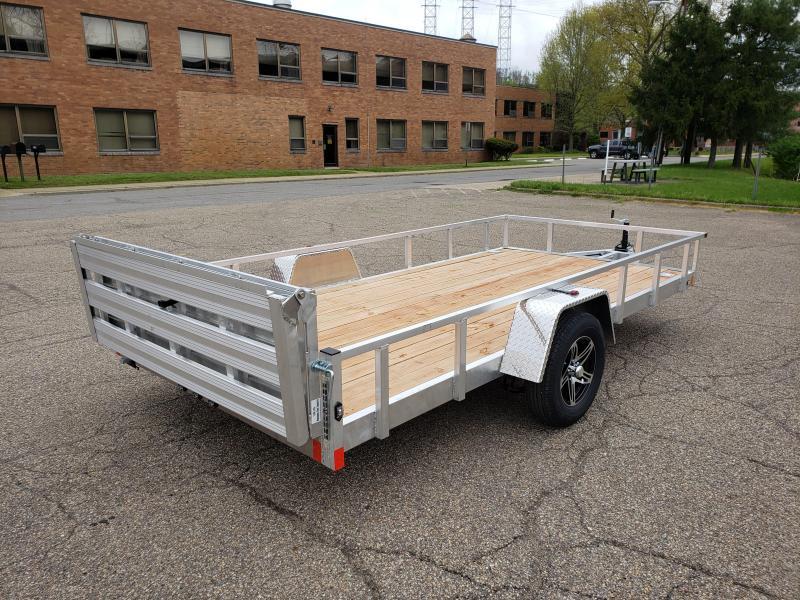 2021 Stealth Trailers 6.5x14 Phantom II Aluminum Utility Trailer