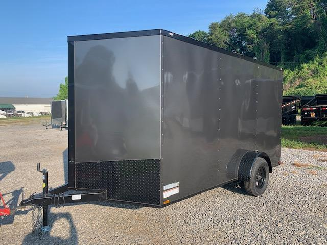 "2020 Outlaw Trailers 7' x 12' SA w/ 6' 6"" interior height Enclosed Cargo Trailer"