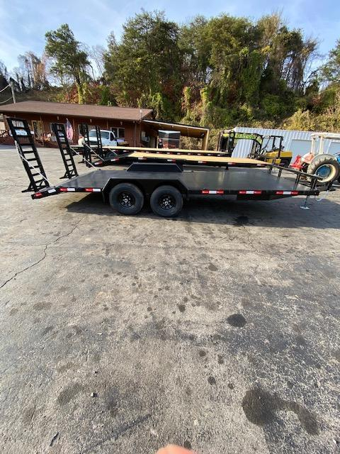 2020 Bushtec 102'' x 20' Equipment Trailer