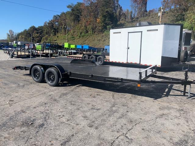 "2021 Outlaw Trailers 82"" x 20' Steel Floor Car Hauler-7000 GVWR Car / Racing Trailer"