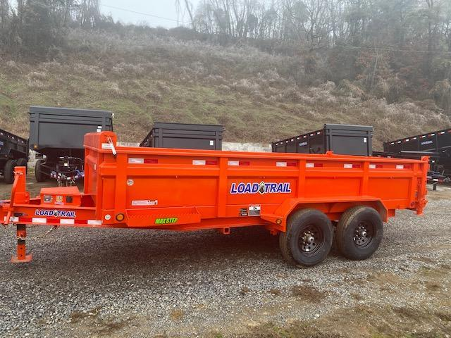2021 Load Trail 7 x 16 Dump Trailer