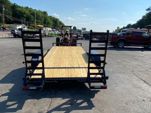 2021 Outlaw Trailers 16' 14k Equipment Trailer