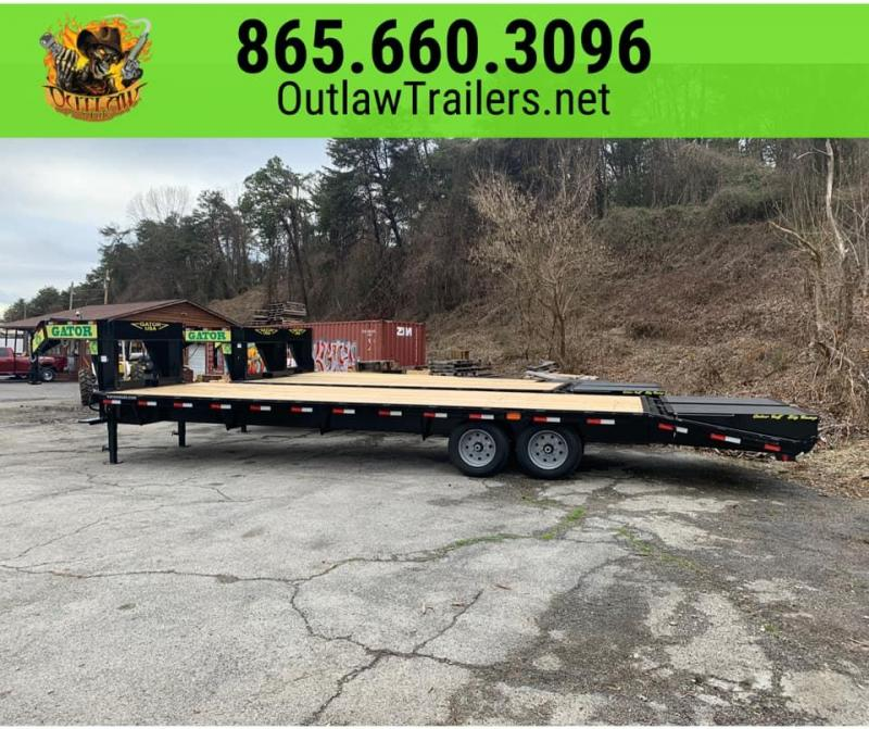 New 2020 Gatormade 25'+5' Gooseneck Equipment Trailer 20K