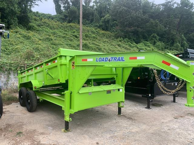 2021 Load Trail 7' x 14' Gooseneck 14000 GVWR Dump Trailer