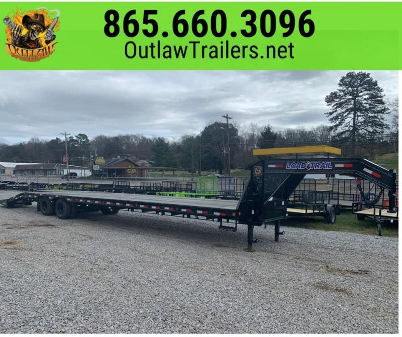 New 2020 Load Trail 35'+5' 24K Dual Tandem Equipment Trailer