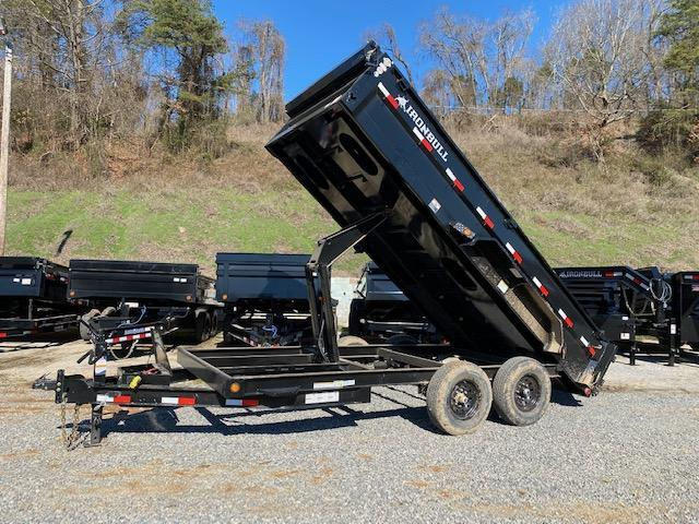 2021 Iron Bull 7x16 Dump Trailer