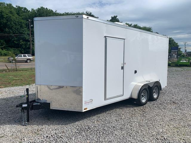"2020 Outlaw Trailers 7' x 16' ""Concession Trailer"" 7000 GVWR Enclosed Cargo Trailer"