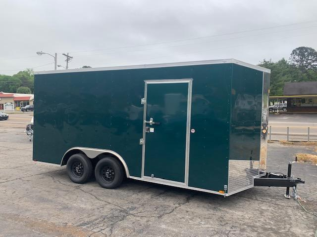 2021 Outlaw Trailers 8.5x16 Enclosed Cargo Trailer
