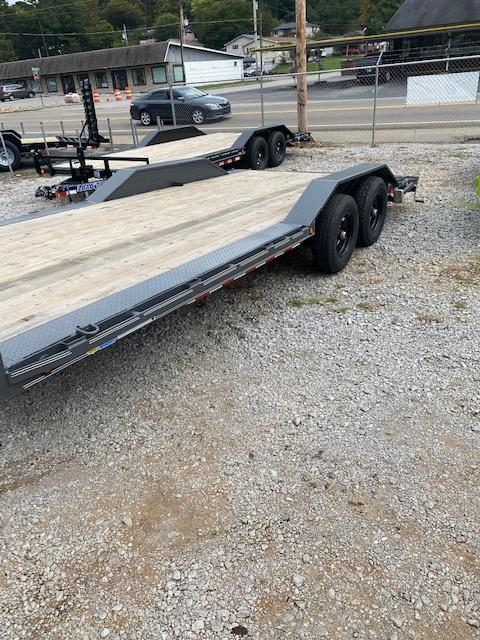 2021 Outlaw Trailers 102'' x 20' Tandem Axle Car Hauler Car / Racing Trailer