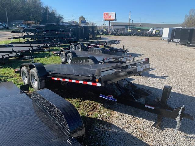 2021 Owens Trailers 20' HAWKE *OUTLAW EDITION* Full Hydraulic Tilt Equipment Trailer