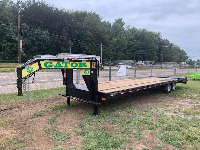 "2021 Gatormade Trailers 102"" x 30' 20000 GVWR Gooseneck Equipment Trailer"