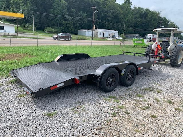 2021 Outlaw Trailers 7' x 18' OUTLAW Car Hauler- 7000 GVWR Car / Racing Trailer
