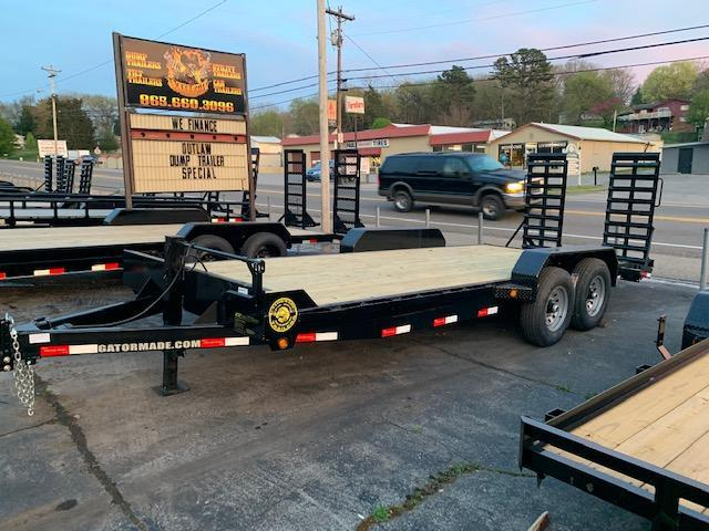 2020 Gatormade Trailers 20' equipment trailer- 14000 GVWR Equipment Trailer