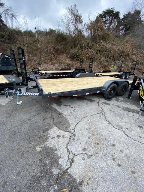 2021 Lamar Trailers 83''x18' Car / Racing Trailer