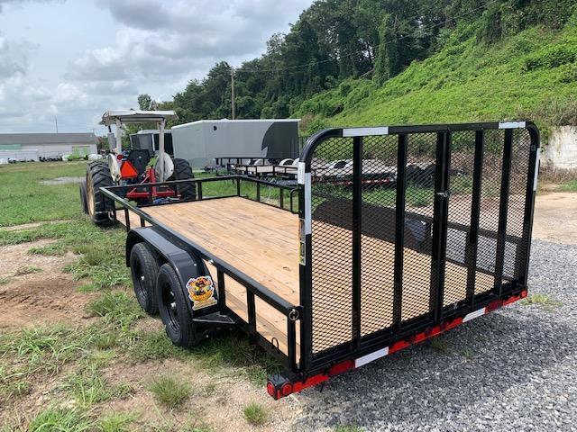 2021 Load Trail 7' x 16' TA Utility Trailer- 7000 GVWR Utility Trailer