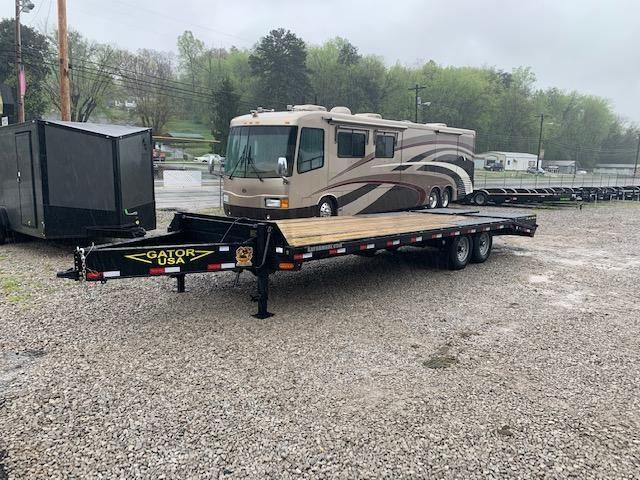 "2020 Gatormade Trailers 102"" x 25' deckover w/ Mega Ramps Equipment Trailer"