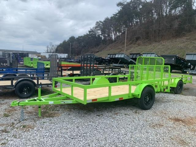 2021 Outlaw Trailers 6.4' x 12' Utility Trailer