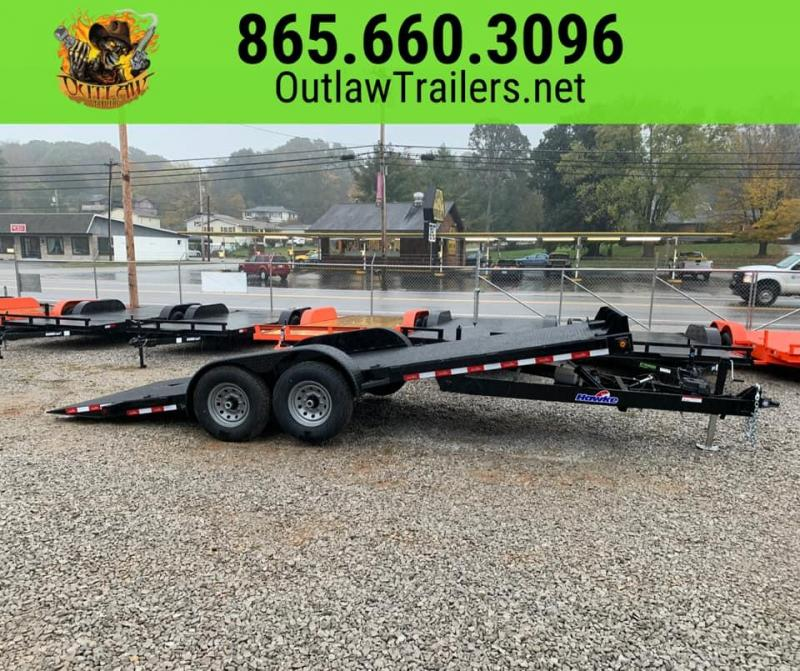 New 2020 Outlaw 20' 12K Full Hydraulic Tilt Trailer