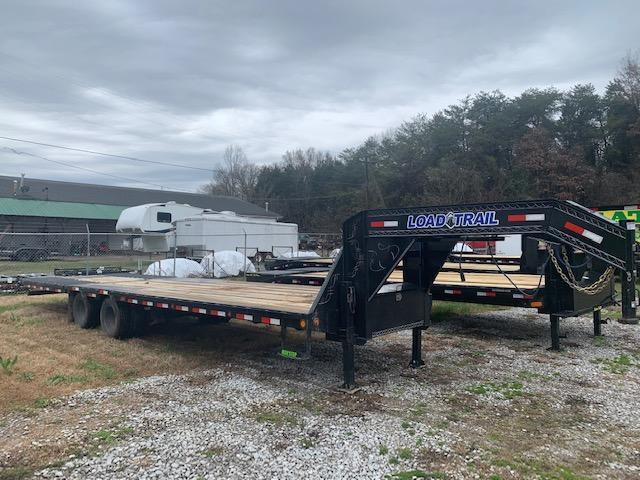 2021 Load Trail 32' Hydraulic Dovetail Gooseneck Equipment Trailer