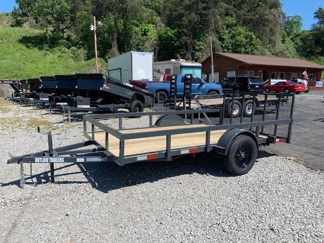 2020 Outlaw Trailers 6.4' x 12' Single Axle Utility Trailer Utility Trailer