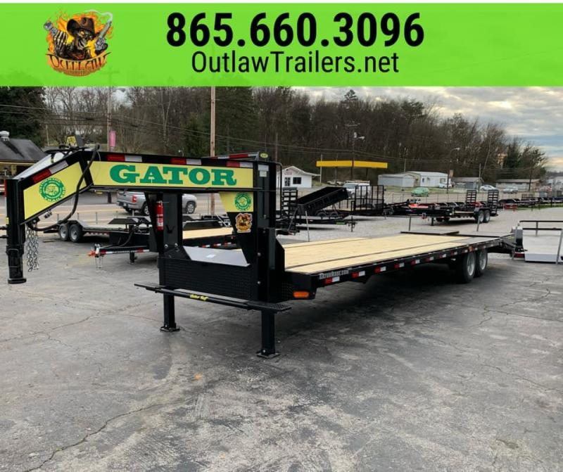 New 2020 Gatormade Elite 25'+5' 20K Equipment Trailer w/ Mega Ramps