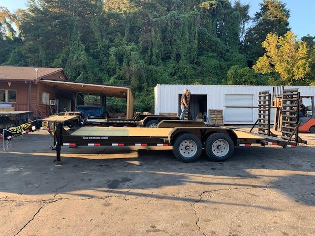 2021 Gatormade Trailers 18 plus 3 Equipment Trailer
