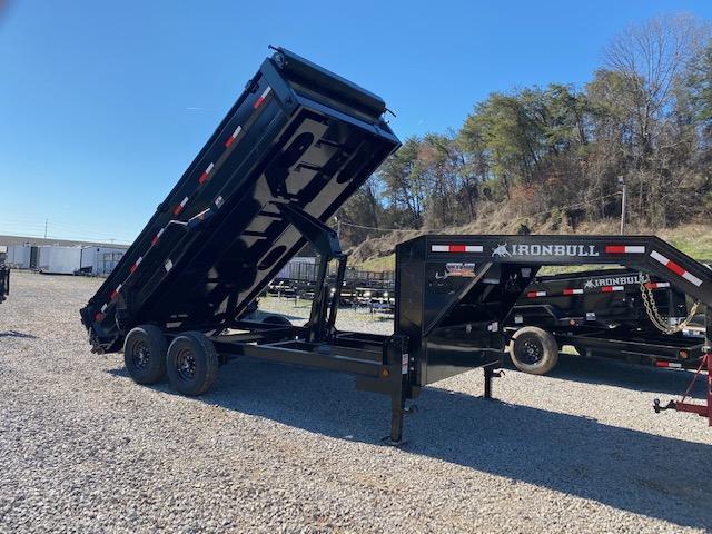 2021 Iron Bull 7x16 Gooseneck Dump Trailer