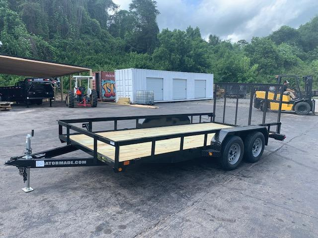 2020 Gatormade Trailers 7' x 16' 7000 GVWR Equipment Trailer