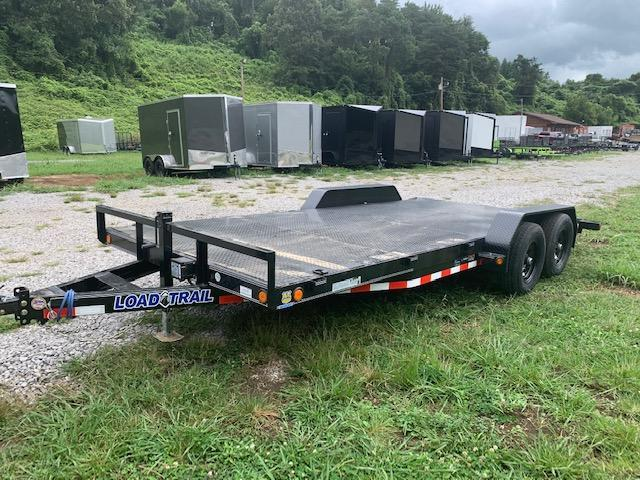 "2021 Load Trail 83"" x 18' Steel Floor Car Hauler- 7000 GVWR Car / Racing Trailer"