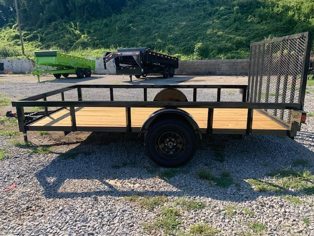 "2020 Outlaw Trailers 7' x 12' OUTLAW SA Utility Trailer ""Full Tube Top Utility Trailer"