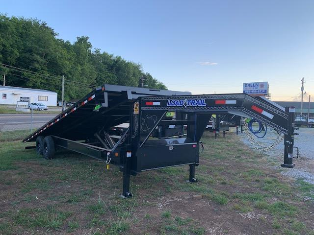 2020 Load Trail 102x26 Tandem Axle Gooseneck Full Tilt Deck Equipment Trailer