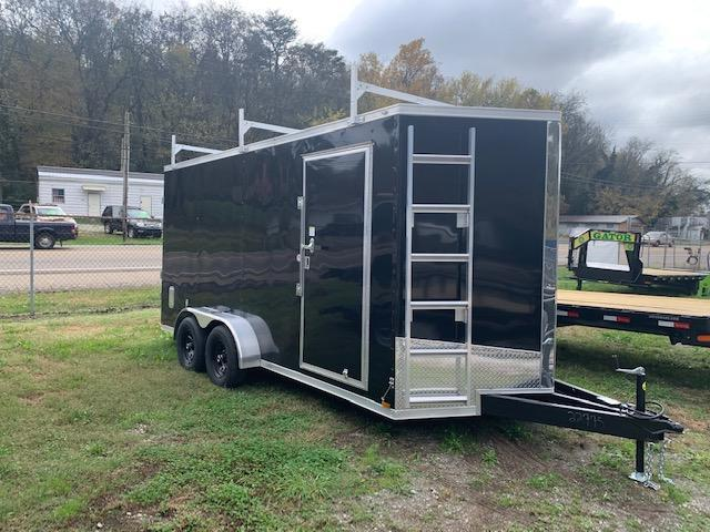 "2021 Outlaw Trailers 7' x 16' 10000 GVWR ""Contractor Trailer"" Enclosed Cargo Trailer"