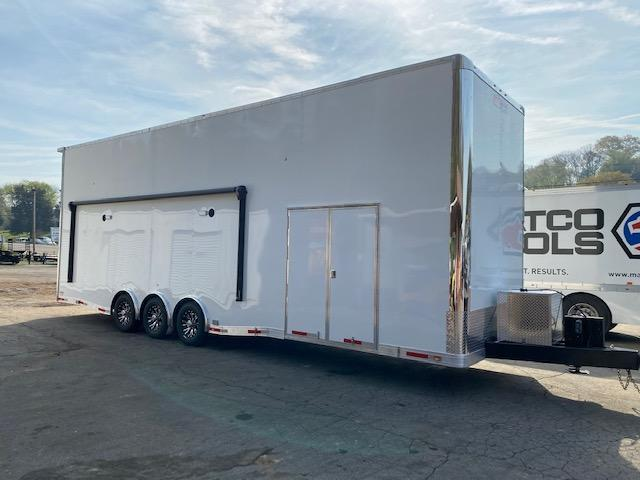 2021 Outlaw Trailers 8.5' X 32' STACKER W/ 26' Dragster Lift Enclosed Cargo Trailer